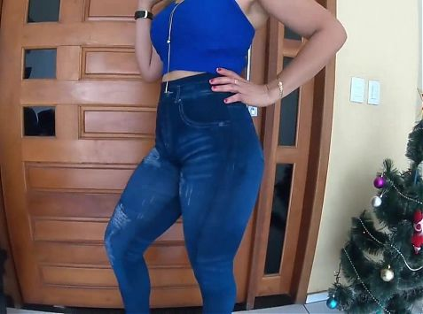 Super sexy latina matura (jeggings)