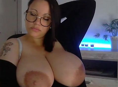 Huge Boobs on Webcam