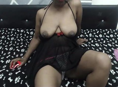 Cam2cam with black hairy mature