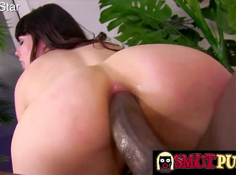 Smut Puppet - Brunettes Get Ass Pounded by BBC Compilation 2